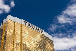 The Trump International Hotel in Las Vegas
